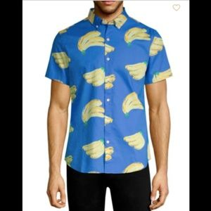BONOBOS Rip Curl Bananrama Slim Fit Novelty Shirt